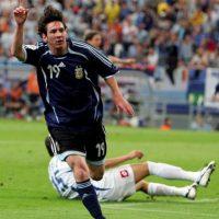 7. Impuso un récord en los Mundiales con Argentina Foto:Getty Images