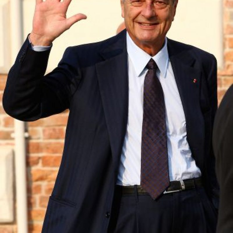 2. Jacques Chirac Foto: Getty Images