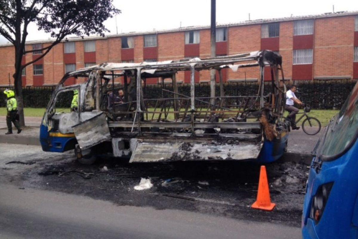 Foto:Bomberos de Bogotá