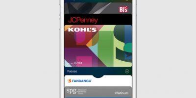 Antes Passbook, la cual les permitirá administrar sus distintas tarjetas de crédito Foto:Apple