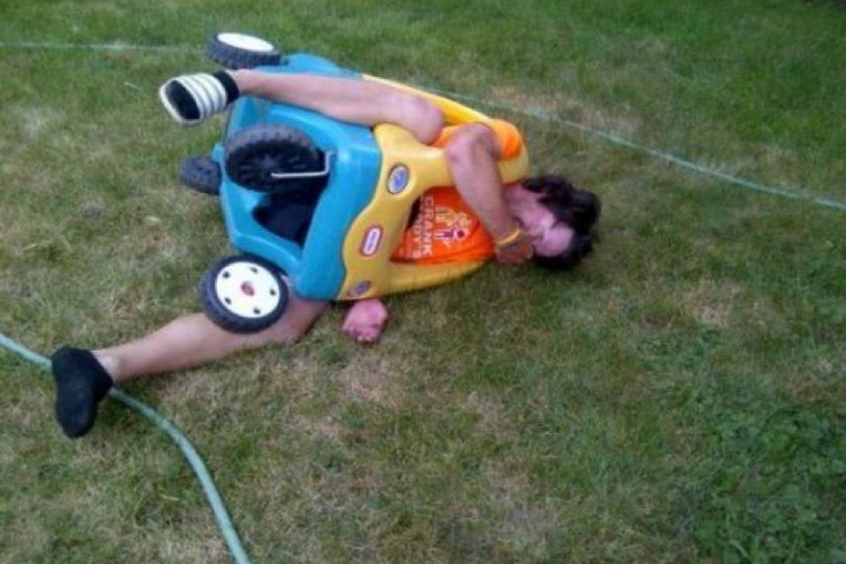El que arruinó el juguete infantil. Foto:vía Epic Fail