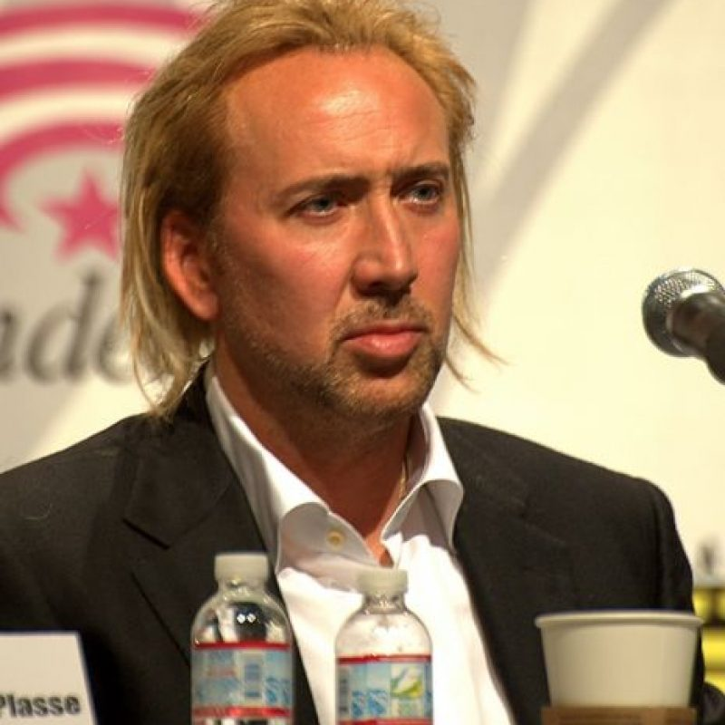 """El hijo de Nicolas Cage, Weston Coppola Cage era cantante de la banda de Black metal """"Eyes of Noctum"""". Foto:Getty Images"""