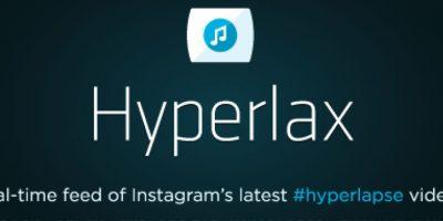 La web se inspiró en Hypermasher, un sitio con un concepto casi idéntico Foto:hyperlax.tv/#