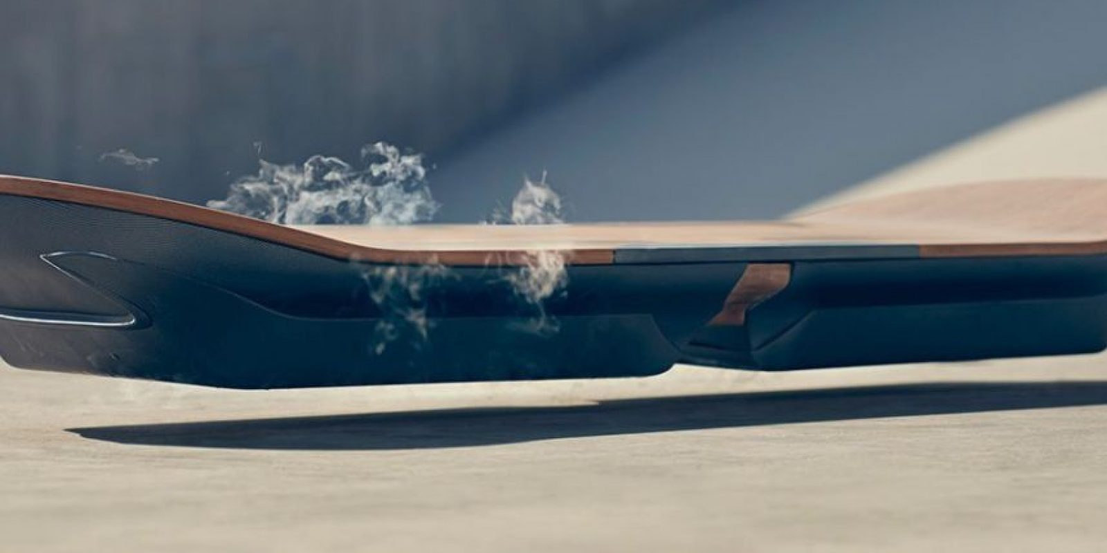 La compañía asegura que actualmente está siendo probada por un skater profesional en Barcelona Foto:Lexus