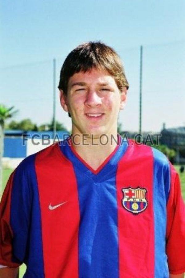 En 2002, Leo Messi todavía estaba en las inferiores del Barcelona. Foto:www.fcbarcelona.cat