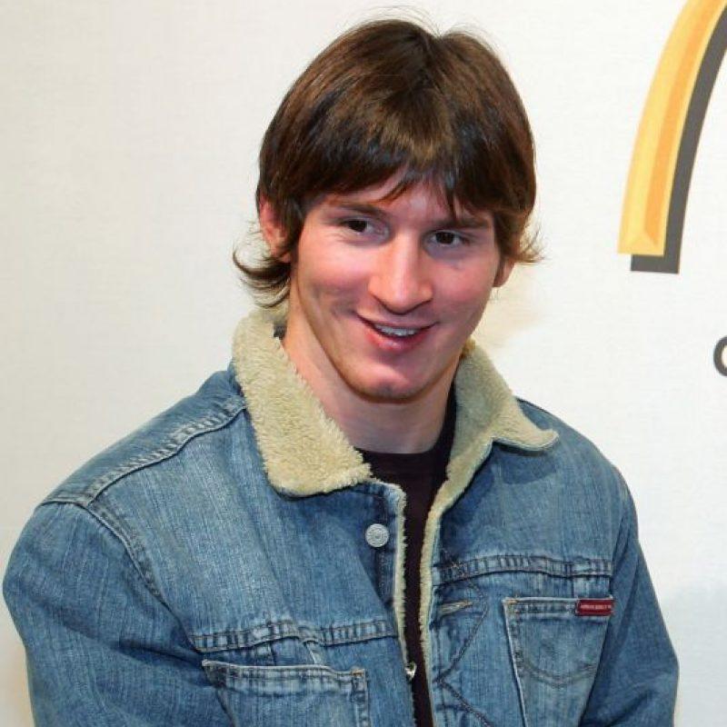 Con este look lo conocimos, entonces tenía 17 años. Foto:Getty Images
