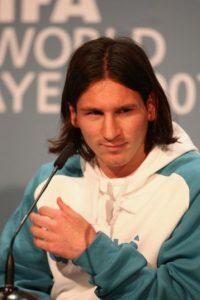 Para 2008, fue nominado por primera vez al Balón de Oro y así apareció en la gala. Foto:Getty Images