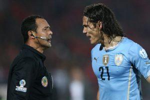 Edinson Cavani, delantero de Uruguay, vivió un drama en plena Copa América. Foto:Getty Images