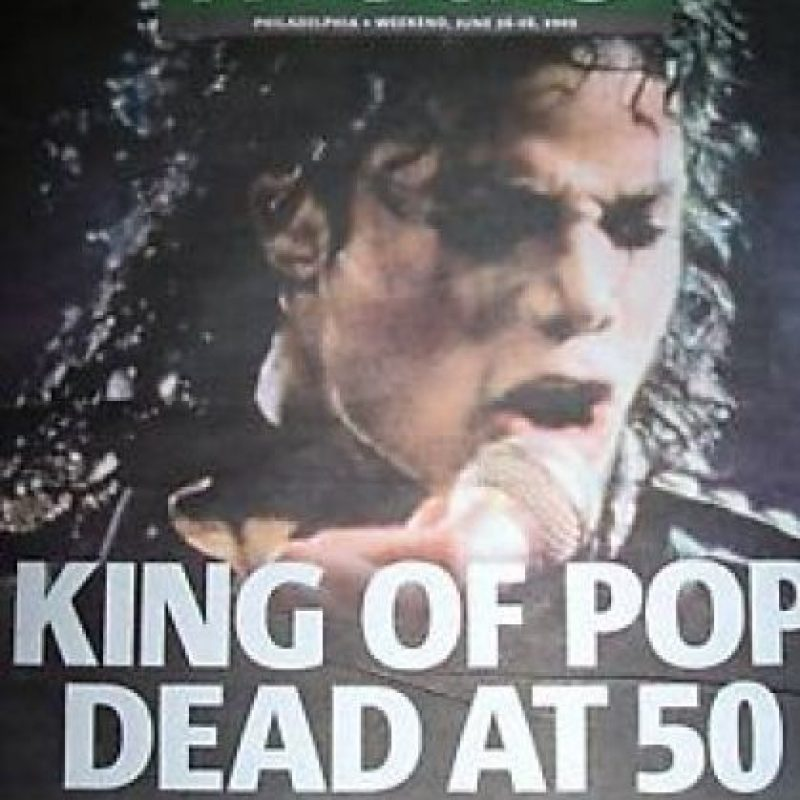 """Michael Jackson es mejor conocido como el """"Rey del pop"""" Foto:Periódico """"Metro"""""""