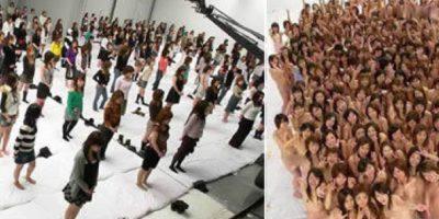 La orgía más grande del mundo contó con 250 personas en Japón. El acto sexual se grabó para venderlas en un DVD.
