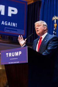 """""""Tengo amigos y negocios en México y siento gran respeto por sus líderes que, francamente, son mas inteligentes y fuertes que algunos políticos estadounidenses"""", agregó. Foto:Getty Images"""