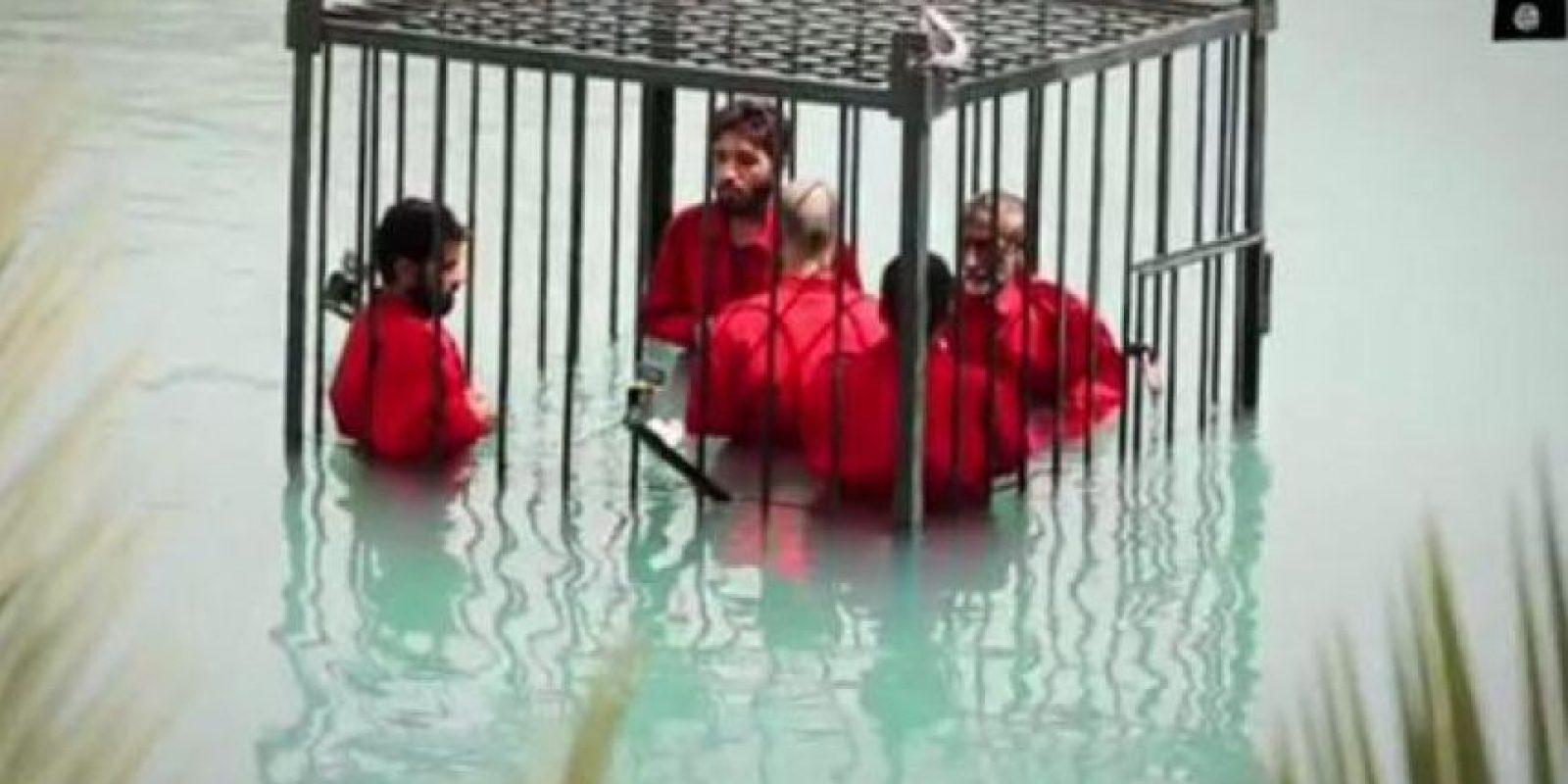 2. Ahogar en una jaula a sus víctimas Foto:Twitter – Archivo