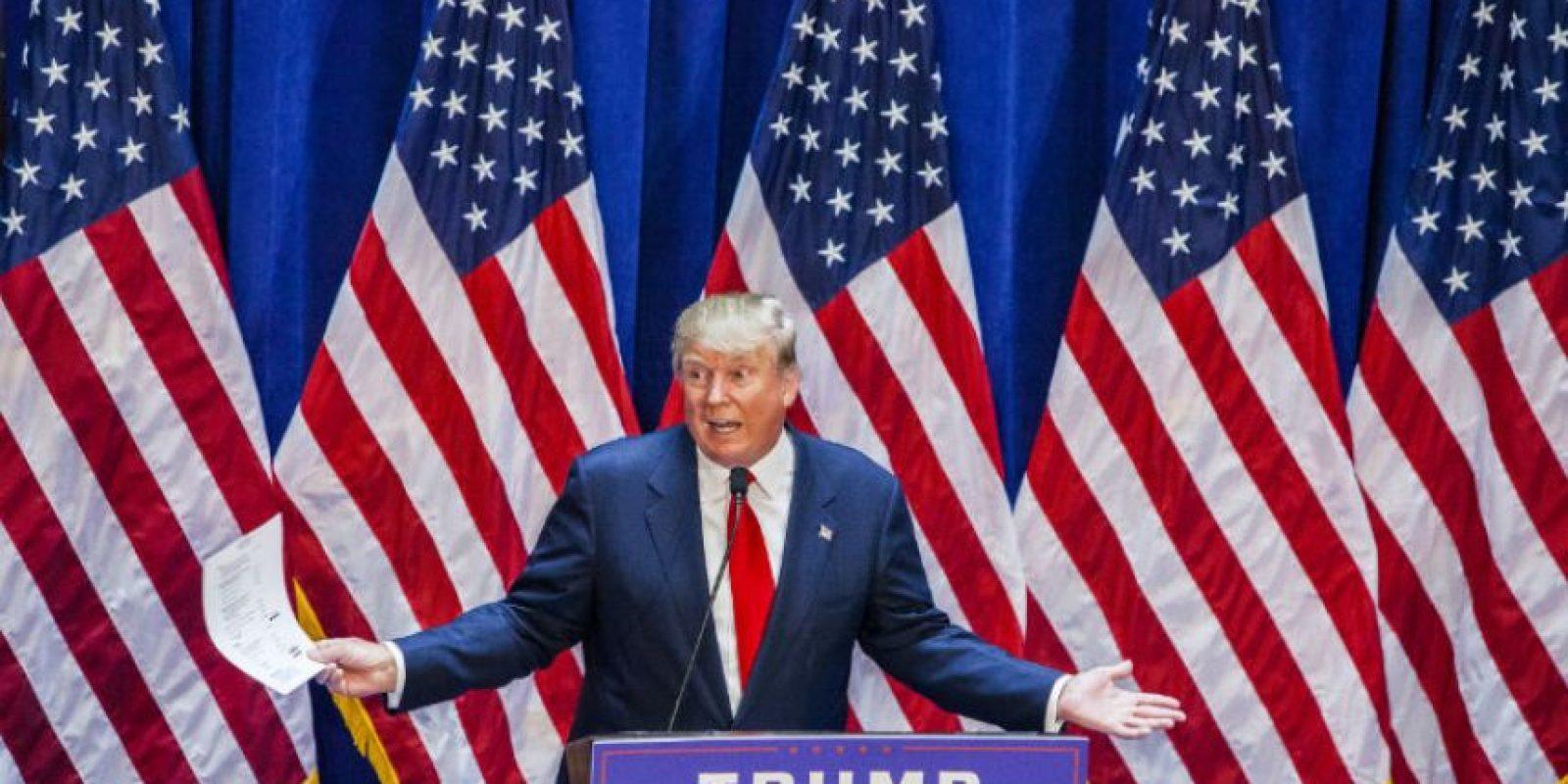 Trump es el segundo favorito de los votantes republicanos. Foto:Getty Images