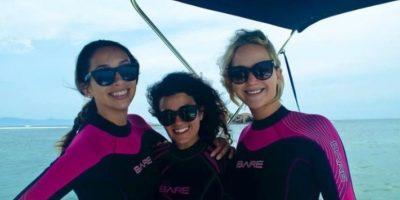 De vacaciones con sus amigos en las playas de México Foto:Vía facebook.com/stregispuntamita