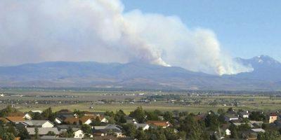 4. No utilizar asadores al aire libre si viven en una zona propensa a fuegos forestales. Foto:AP