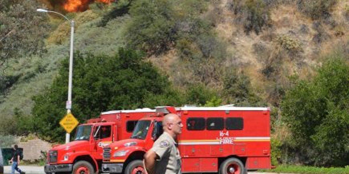 FOTOS: Evacuaciones por incendio forestal masivo en California