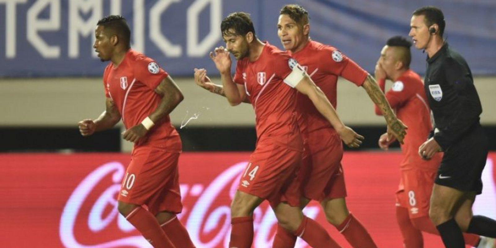 Perú eliminó en cuartos de final a Bolvia Foto:AFP