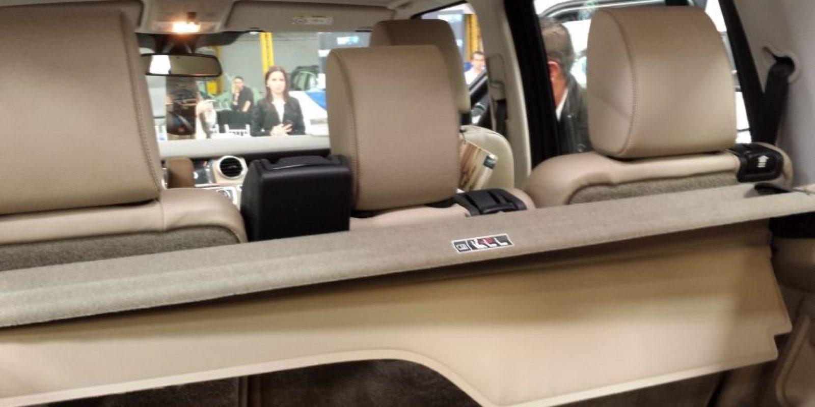 El interior es rearmado y no muestra diferencias estéticas con el de un vehículo de línea. Foto:Juan Manuel Reyes – Publimetro
