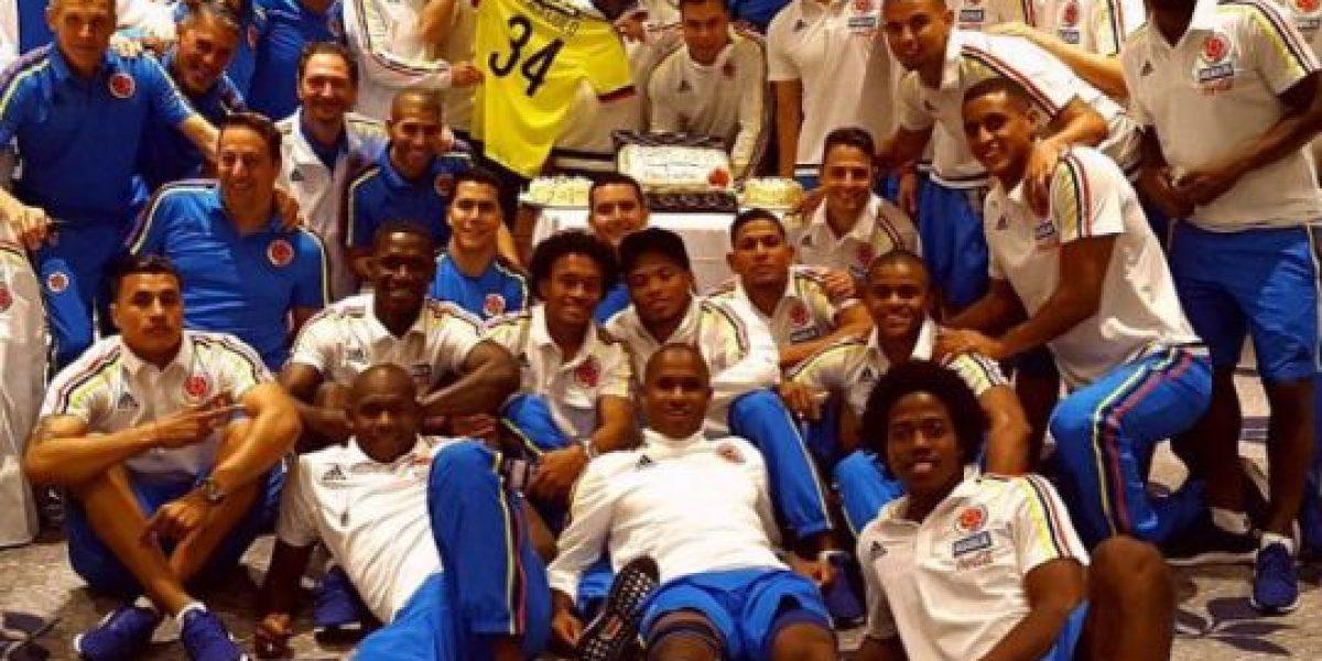 Fotos: Así se relaja la Selección Colombia antes enfrentar a Argentina