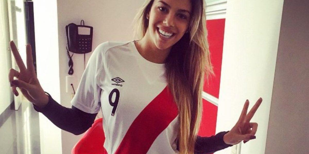 Alondra García Miró es la musa de la Selección Peruana