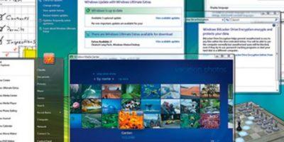 En el año 2006, Microsoft anunció la llegada del Windows Vista. Así es como lucía la interfaz. Foto:windows.microsoft.com