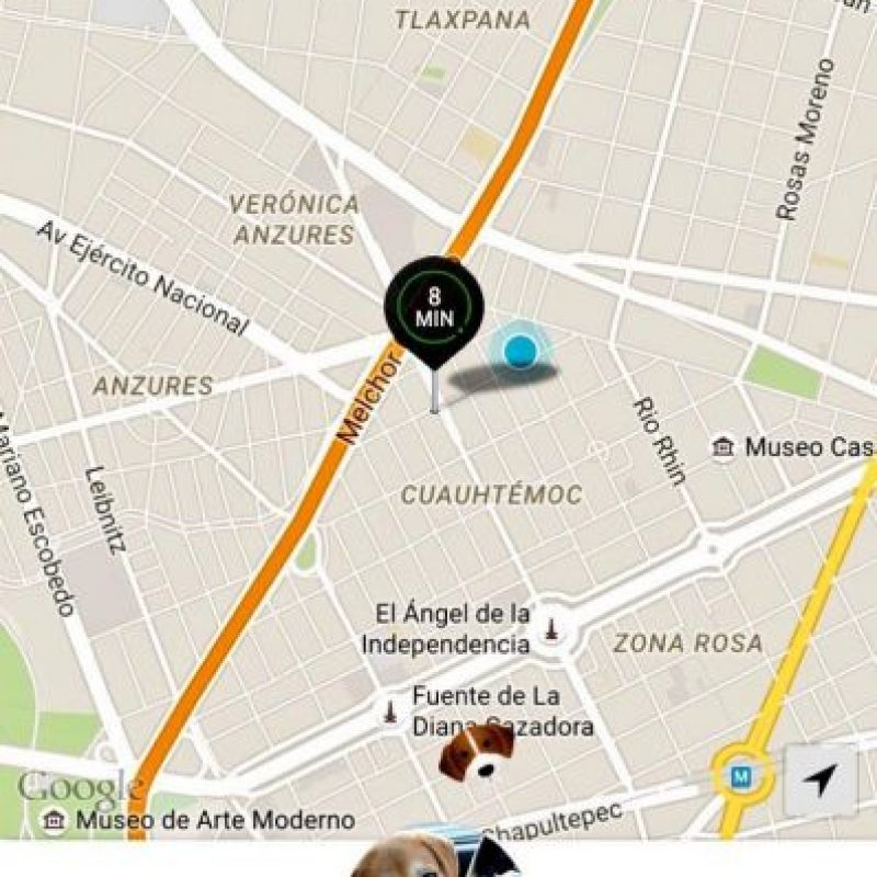 Se realiza en la Ciudad de México en el marco del Día Internacional de llevar el perro a la oficina. Foto:Uber