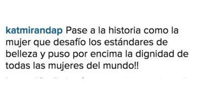 Comentarios en contra Foto:Vía instagram.com/paulinavegadiep/