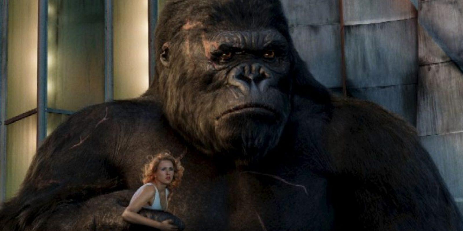 O que Ann Darrow se enamorara de un gorila gigante… Foto:vía New Line Cinema