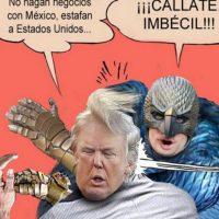 """¿Será que está molesto todavía con lo de """"Birdman""""? Foto:vía Twitter"""