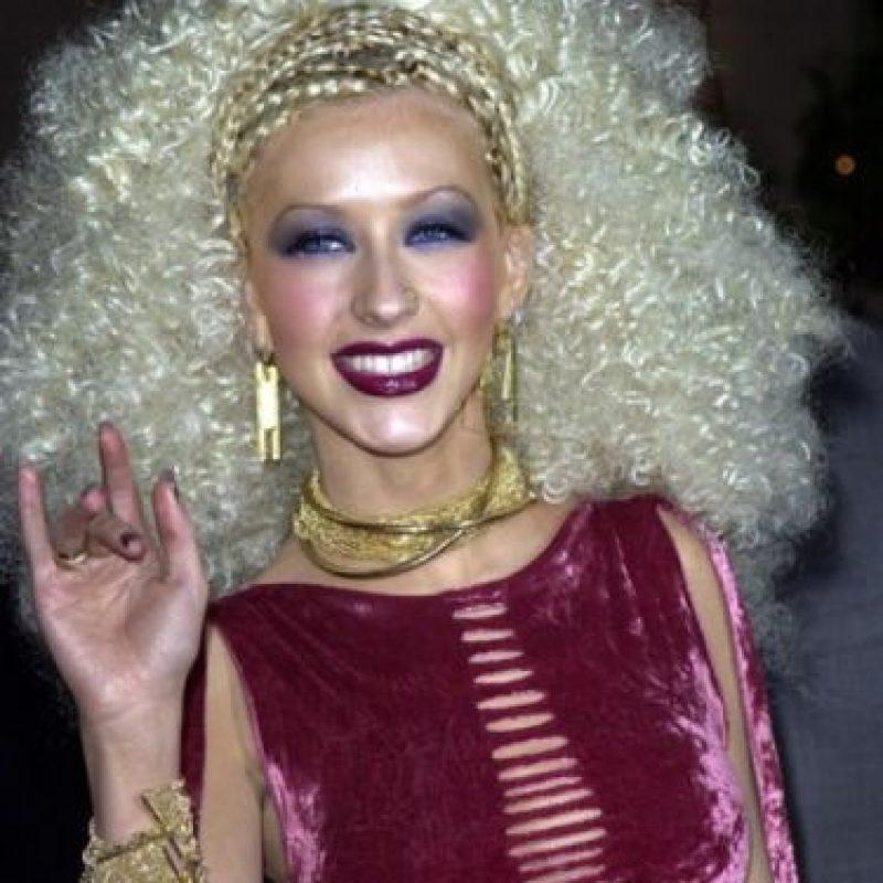 Christina Aguilera era Dee Snider. Se los dijimos. Foto:vía Getty Images