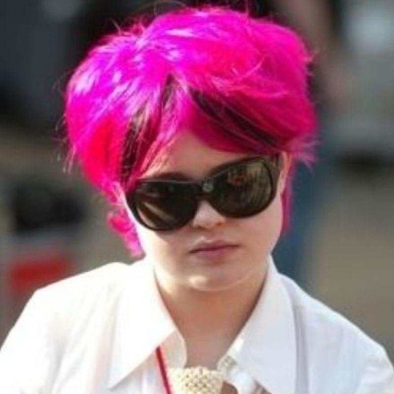 Solo hasta que dejó de ser la versión trashy de su madre y se transformó logró algo. Foto:vía Getty Images