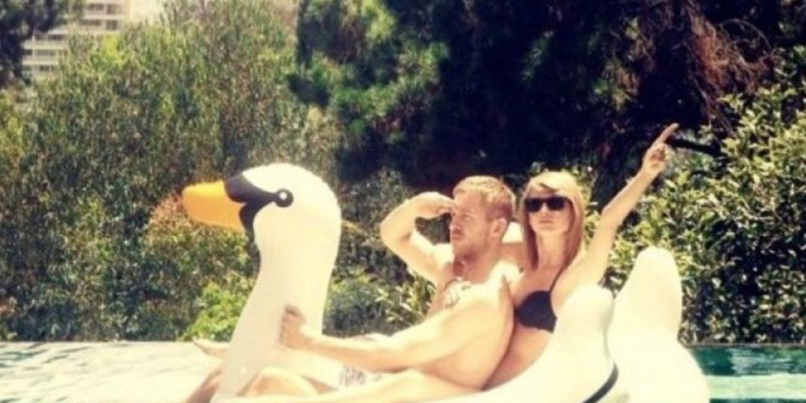 Taylor Swift y su novio, el DJ Calvin Harris, son la pareja mejor pagada Foto:Vía instagram.com/taylorswift/