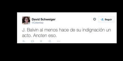 Otros lo defienden, ya que por lo menos Balvin no solo se quejó y sí hizo algo al respecto. Foto:vía Twitter