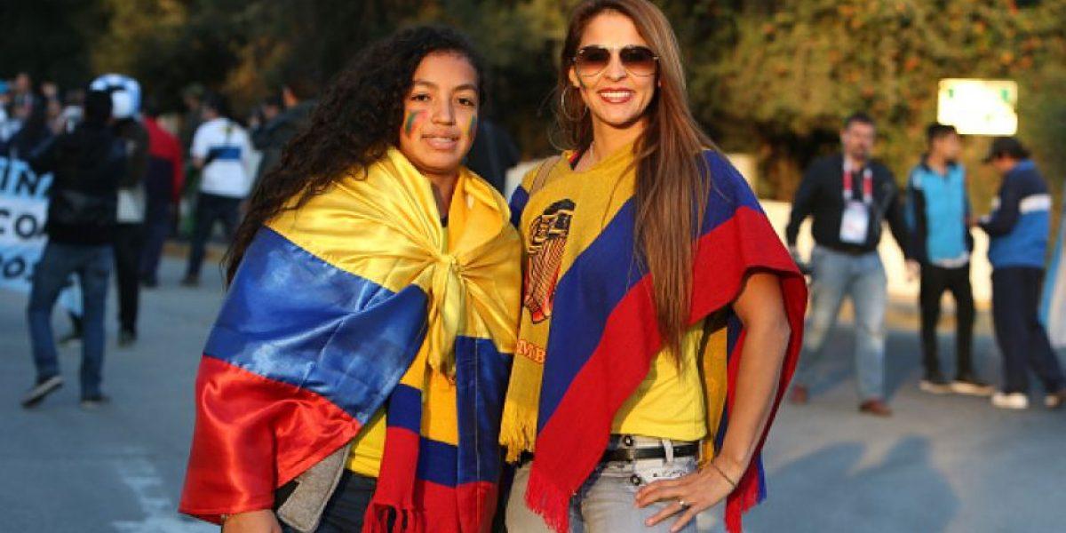 FOTOS: Ellas son las hinchas más bellas del Argentina vs. Colombia