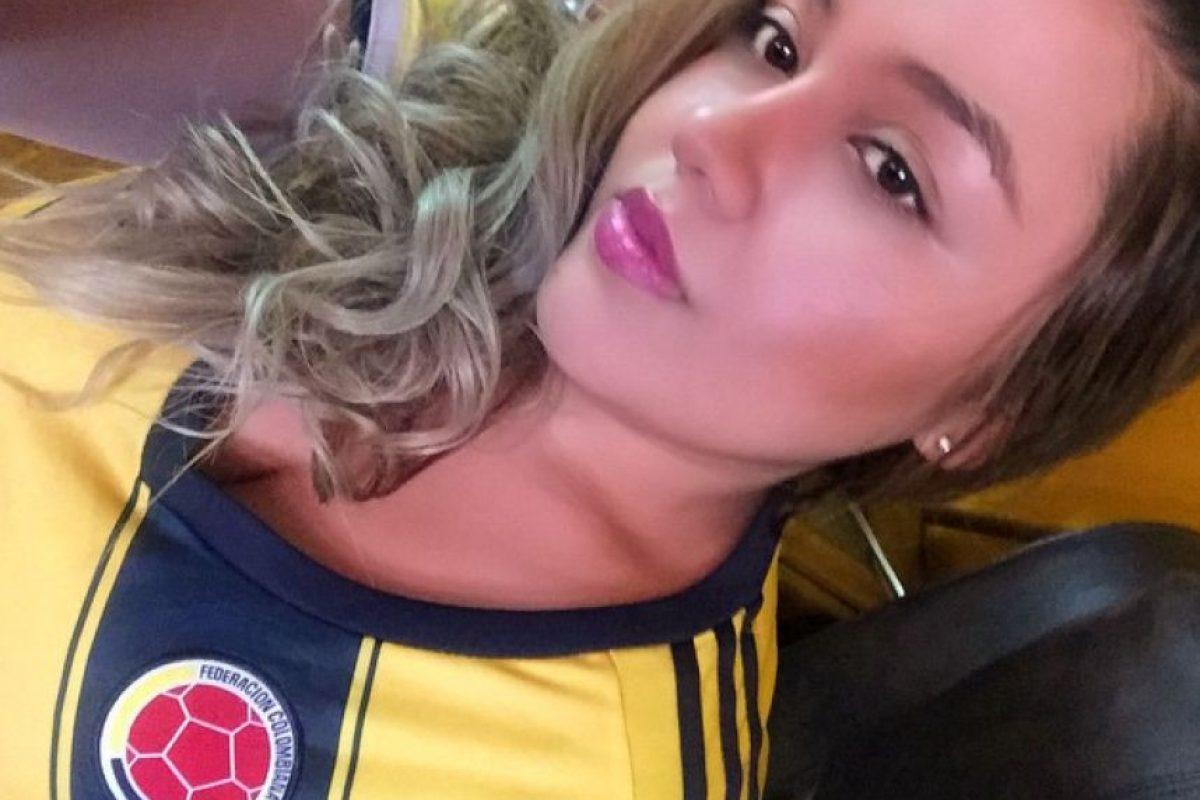 También en redes sociales las colombianas que no pudieron ir a Chile, mostraron su apoyo a su selección. Foto:Vía instagram.com/annieml