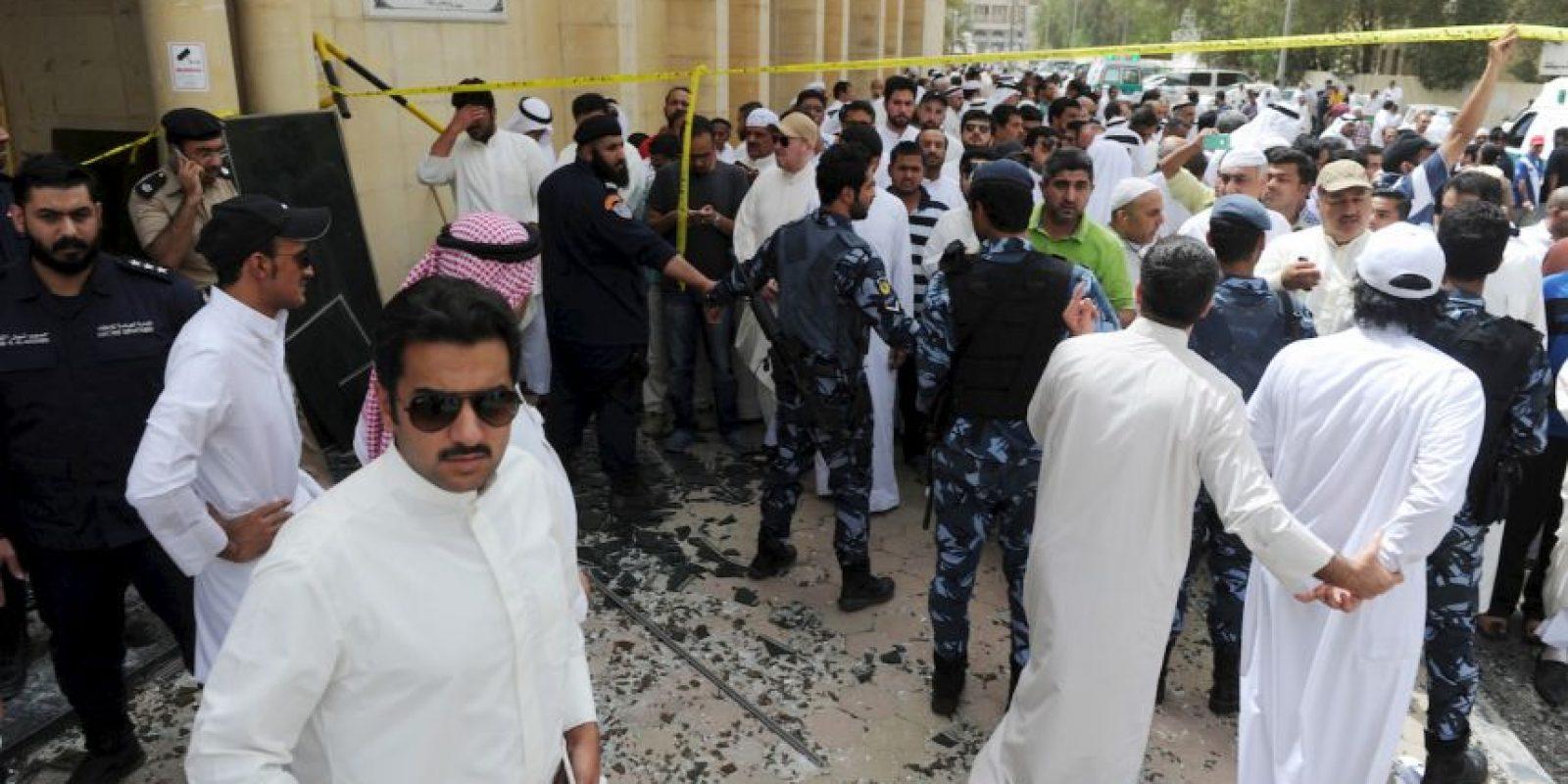 4. El Estado Islámico se atribuyó el ataque suicida. Foto:AP