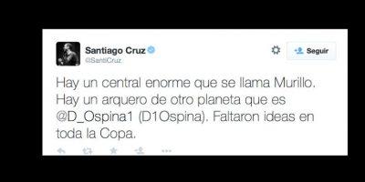 De hecho, él y Ospina son los únicos confiables para los colombianos. Foto:vía Twitter