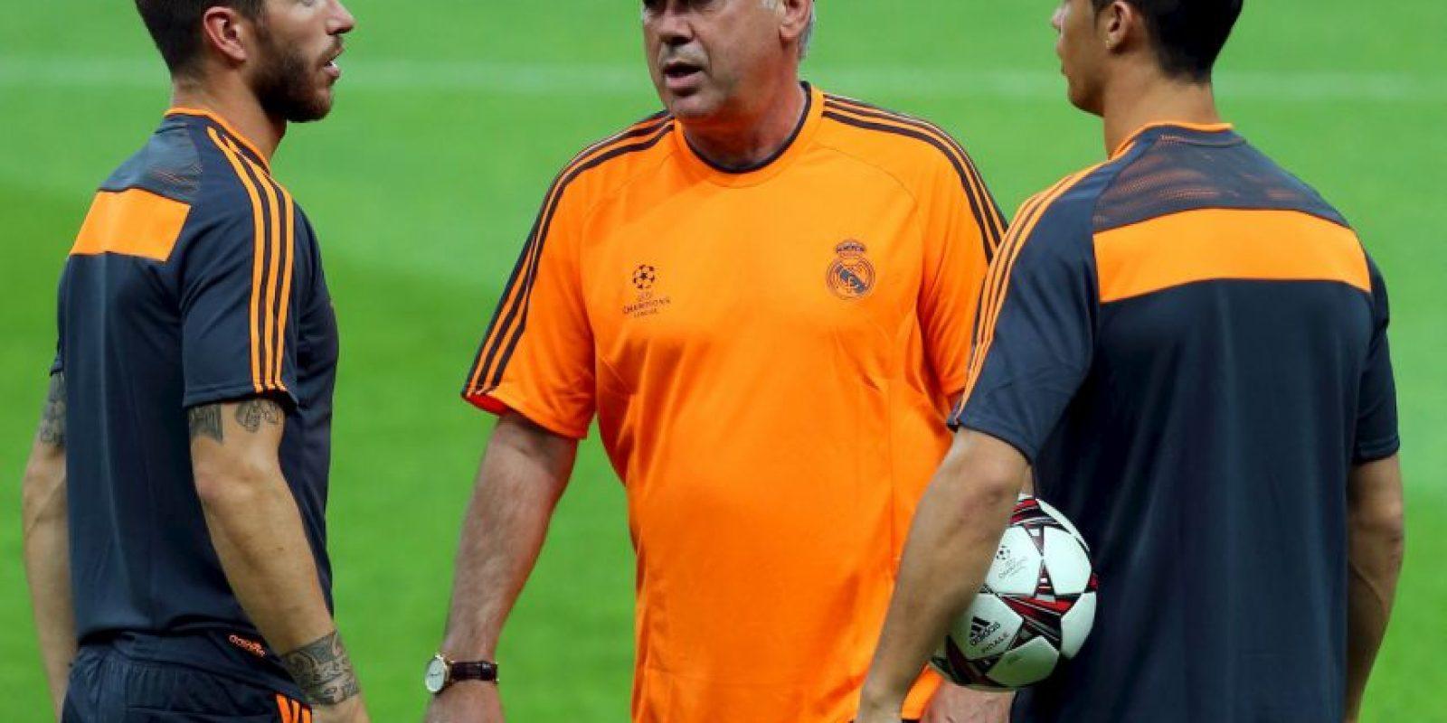 Cabe recordar que hace algunas semanas, Cristiano también abogó por Carlo Ancelotti para que se mantuviera al frente del equipo, pero este fue despedido. Foto:Getty Images