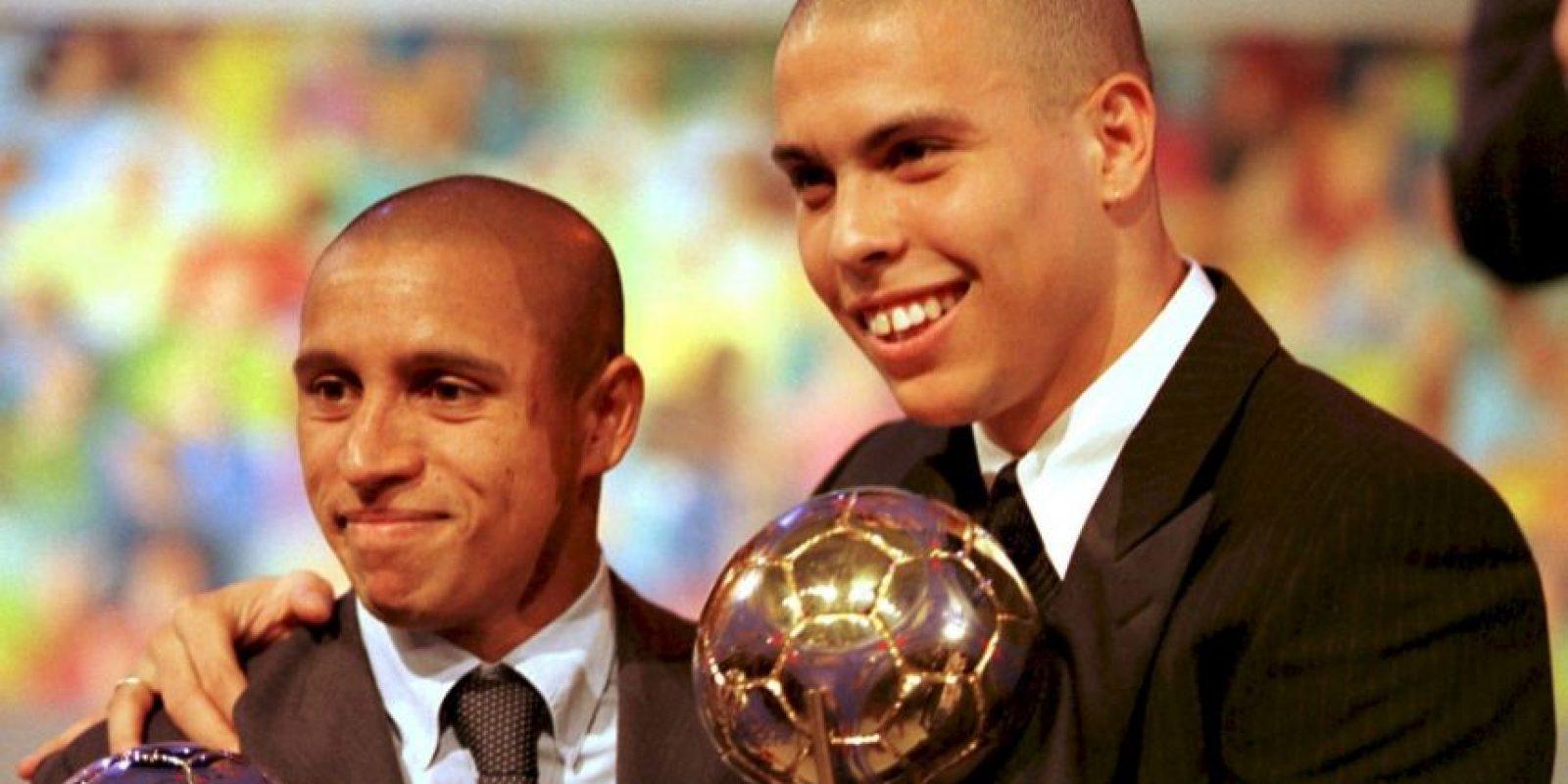 """Ronaldo llegó a Europa en 1994 al PSV de Holanda. En sólo dos temporadas, el """"Fenómeno"""" maravilló al """"Viejo Continente"""" y se convirtió en uno de los jugadores más deseados del mundo. Foto:Getty Images"""