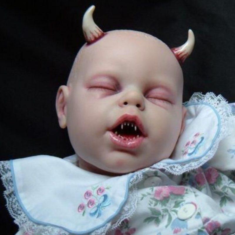 El bebé demonio de Nueva Orleans: cuenta la leyenda, que en 1800 una joven rica se casó con un escocés, dejando a su amante anterior muy celoso. Foto:vía Tumblr