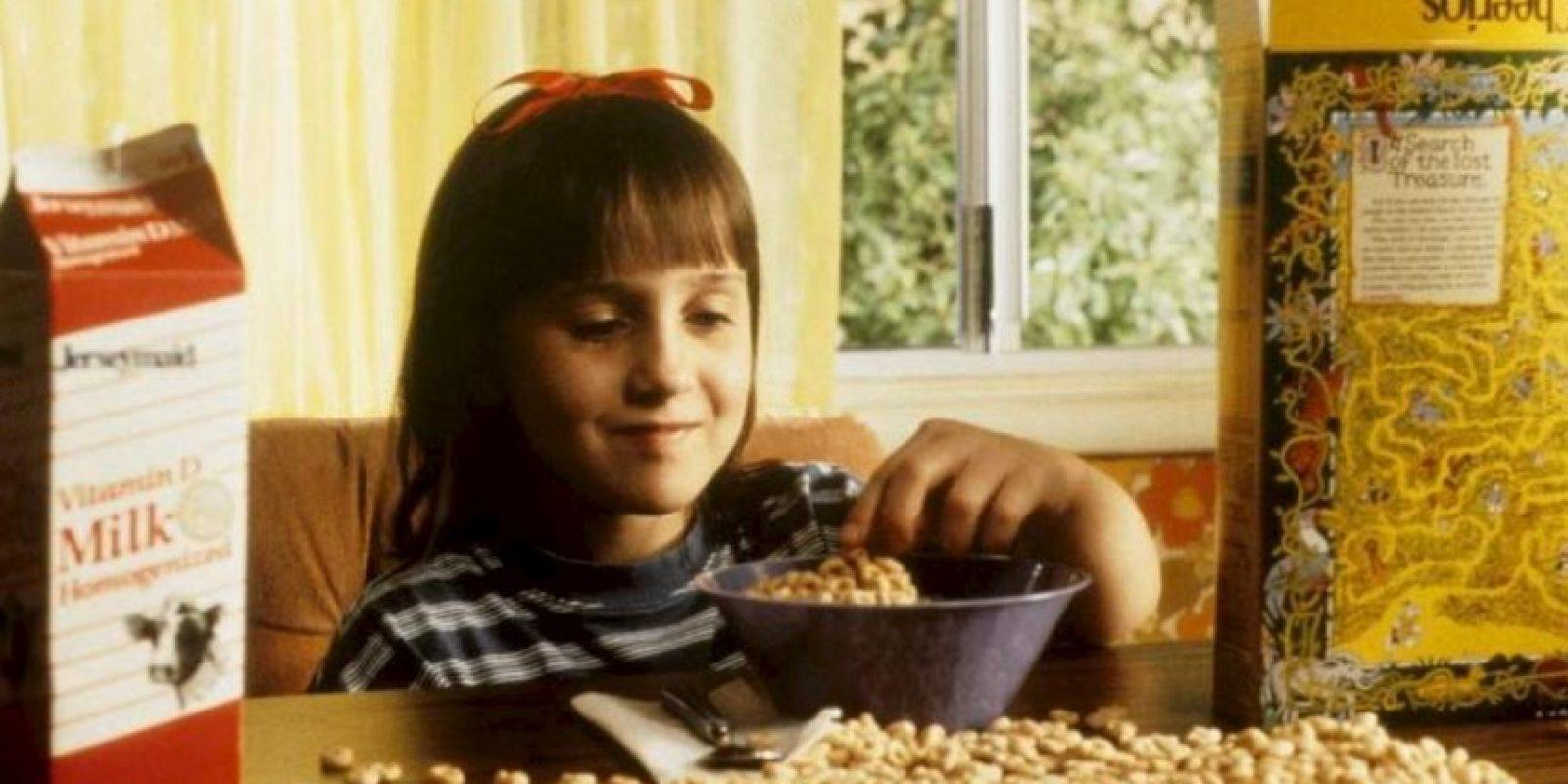 """9. Originalmente, """"Matilda"""" se moría en el libro, pues como usaba sus poderes mágicos para mal, Dahl quería darle una """"lección"""". Pero él reescribió todo. Foto:vía TriStar"""