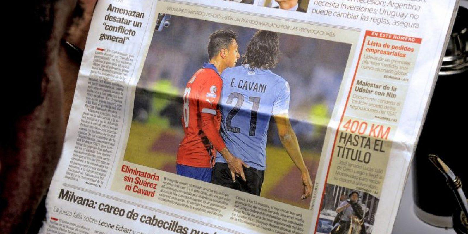 En octavos de final se derrotó a Uruguay, en el recordado partido por la acción de Gonzalo Jara sobre Edinson Cavani. En 4 partidos Chile ha marcado 11 goles. Foto:AFP