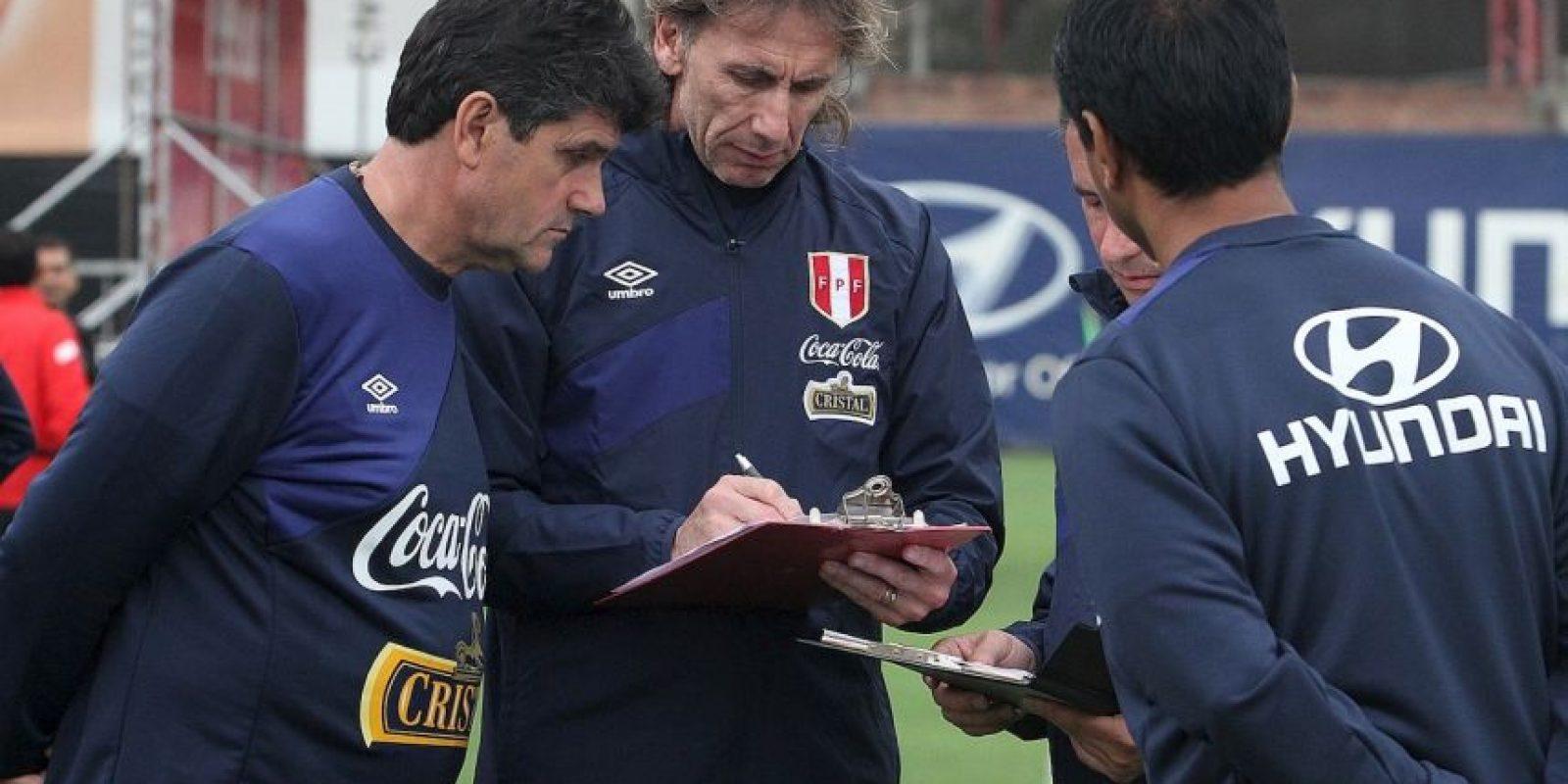 Llegó a la selección de Perú ¡apenas en marzo! Sin embargo, aceptó el reto y ya los tiene en cuartos de final. Foto:Vía .facebook.com/federacionperuanadefutbol