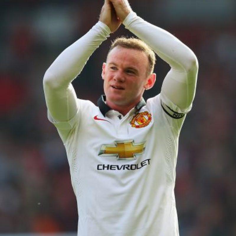 2. Wayne Rooney. Foto:Getty Images