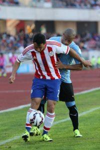 Se apoderó de la banda izquierda ante Brasil y fue de los más regulares del equipo de Ramón Díaz. Foto:Getty Images