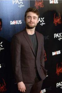 """Daniel Radcliffe: el protagonista de """"Harry Potter"""" padece Dispraxia. Foto:vía Getty Images"""