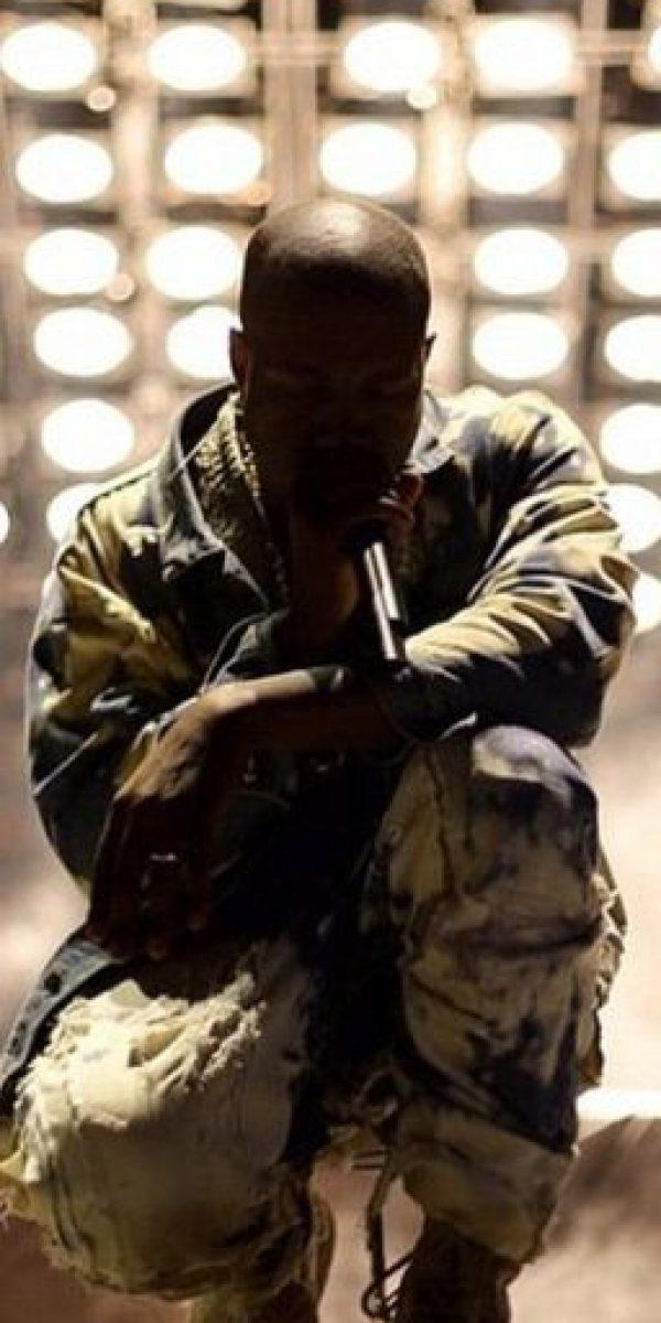 Pero Kanye West tuvo una horrible noche en Glastonbury. Foto:vía Instagram/kimkardashian