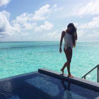 Adrián y Natalia escogieron Singapur y Bali para su luna de miel y ella ha publicado muchas fotos de su estancia en los paradisiacos lugares. Foto:Vía instagram.com/__natinat__