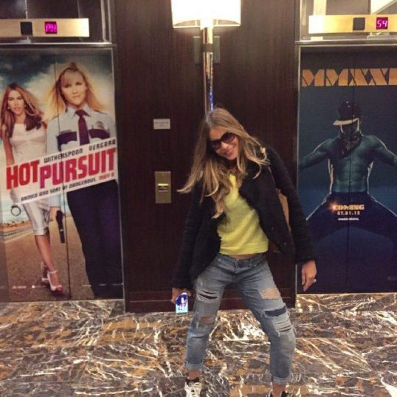 9. Tiene su propia línea de ropa en las tiendas estadounidenses K-Mart. Foto:Vía Instagram.com/sofiavergara