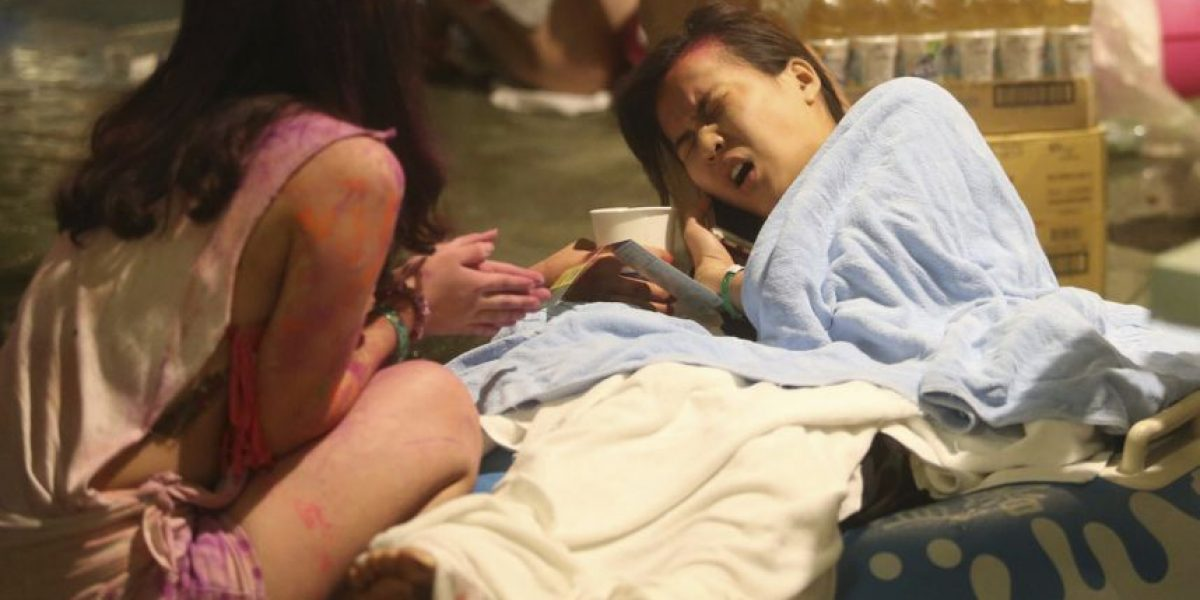 524 heridos tras la explosión en parque acuático de Taiwán